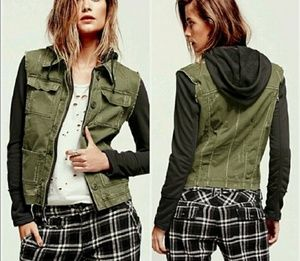 Free People Hybrid  Jacket